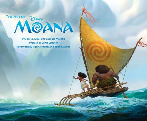 The Art of Moana: (Moana Book, Disney Books for Kids, Moana Movie Art Book) Cover Image
