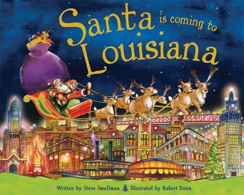 Santa Is Coming to Louisiana (Santa Is Coming To...) Cover Image