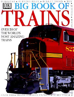DK Big Book of Trains Cover