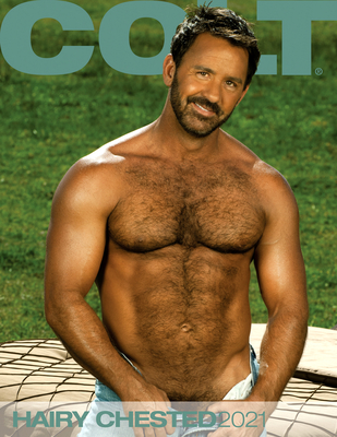 Hairy Chested Men 2021 Calendar Cover Image