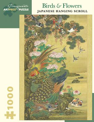 Birds & Flowers: Japanese Hanging Scroll 1000-Piece Jigsaw Puzzle Cover Image