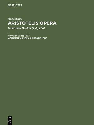Index Aristotelicus Cover Image