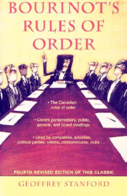 Bourinot's Rules of Order Cover