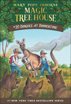 Cover for Dingoes at Dinnertime (Magic Tree House #20)