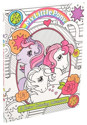 My Little Pony Retro Coloring Book Cover Image
