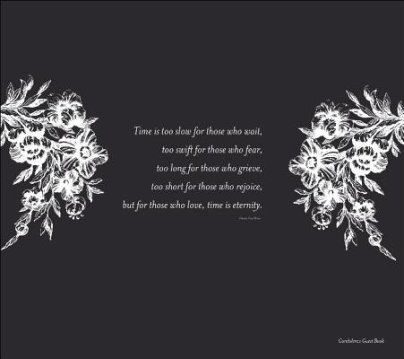 Condolence Guest Book Cover