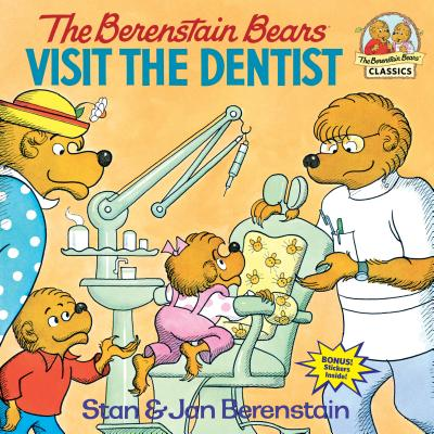 The Berenstain Bears Visit the Dentist (First Time Books(R)) Cover Image
