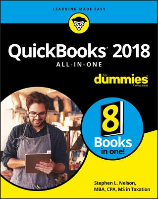QuickBooks 2018 All-In-One for Dummies Cover Image