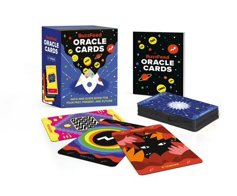 BuzzFeed Oracle Cards: Deck and Guide Book for Your Past, Present, and Future (RP Minis) Cover Image