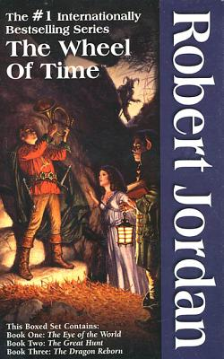 The Wheel of Time, Boxed Set I, Books 1-3: The Eye of the World, The Great Hunt, The Dragon Reborn Cover Image