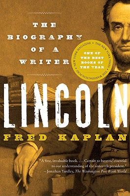 Lincoln: The Biography of a Writer Cover Image