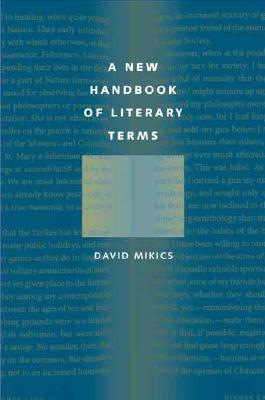 Cover for A New Handbook of Literary Terms