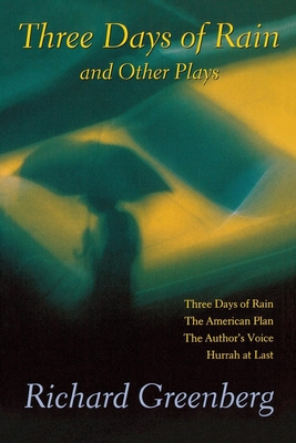 Cover for Three Days of Rain and Other Plays