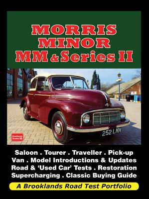 Morris Minor MM & Series II (Road Test Portfolio) Cover Image