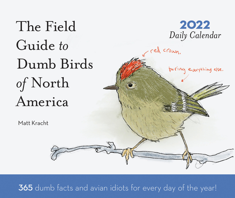 Dumb Birds of North America 2022 Daily Calendar Cover Image