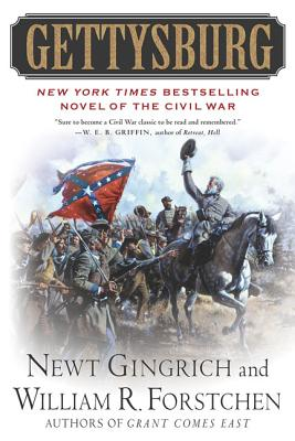 Gettysburg: A Novel of the Civil War (The Gettysburg Trilogy #1) Cover Image