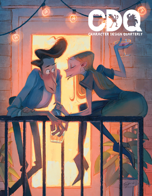 Cover for Character Design Quarterly 18