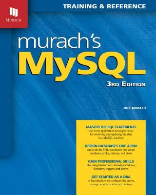 Murach's MySQL (3rd Edition) Cover Image