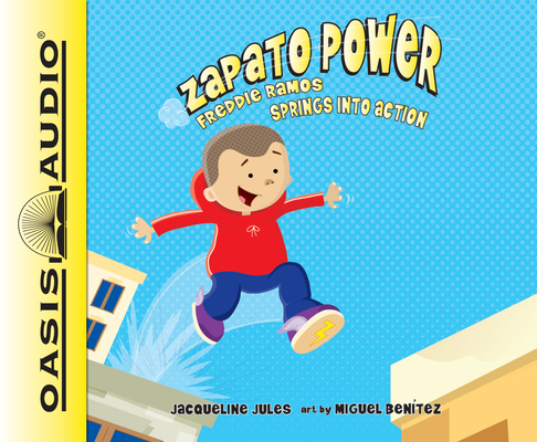 Freddie Ramos Springs Into Action (Library Edition) (Zapato Power #2) Cover Image