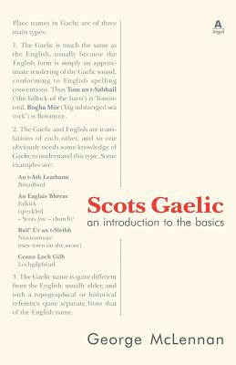 Scots Gaelic: an introduction to the basics Cover Image