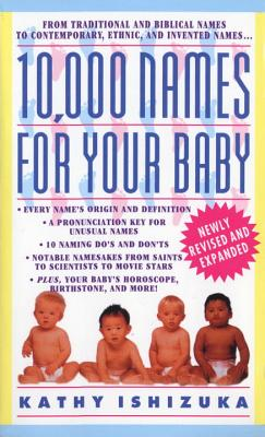 10,000 Names for Your Baby Cover