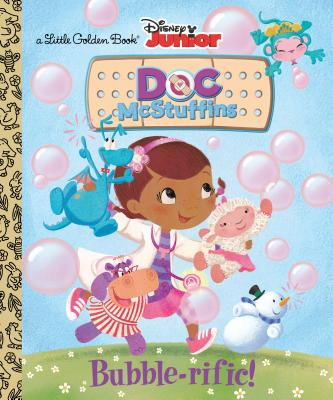 Bubble-rific! (Disney Junior: Doc McStuffins) (Little Golden Book) Cover Image