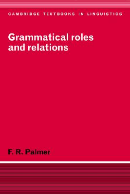 Grammatical Roles and Relations Cover