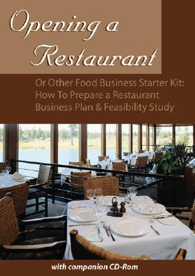 Cover for Opening a Restaurant or Other Food Business Starter Kit