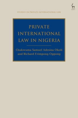 Private International Law in Nigeria (Studies in Private International Law) Cover Image