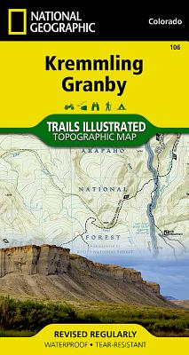 Kremmling, Granby (National Geographic Trails Illustrated Map #106) Cover Image