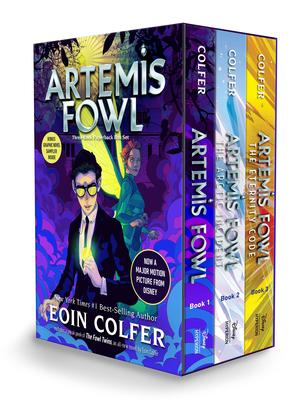 Artemis Fowl 3-book Paperback Boxed Set (Artemis Fowl, Books 1-3) Cover Image