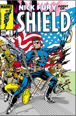 S.H.I.E.L.D. Cover