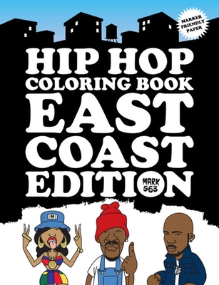 Hip Hop Coloring Book: East Coast Edition Cover Image