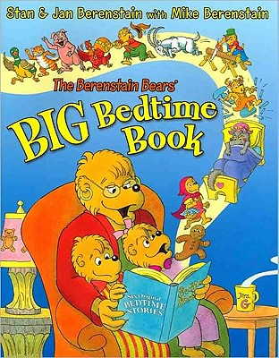 The Berenstain Bears' Big Bedtime Book Cover Image