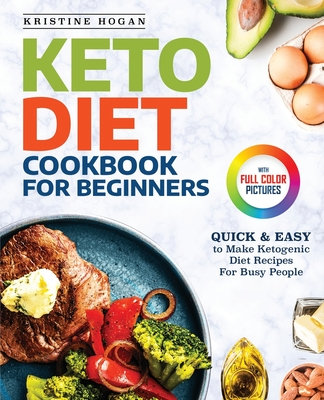 Keto Diet Cookbook For Beginners: Quick & Easy To Make Ketogenic Diet Recipes For Busy People Cover Image
