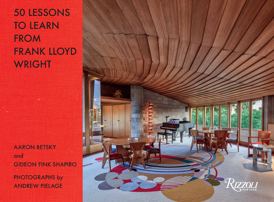 Cover for 50 Lessons to Learn from Frank Lloyd Wright