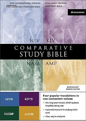 Comparative Study Bible-PR-KJV/NIV/NASB/AM Cover Image