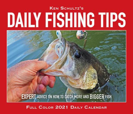 Ken Schultz's Daily Fishing Tips 2021 Box Calendar Cover Image