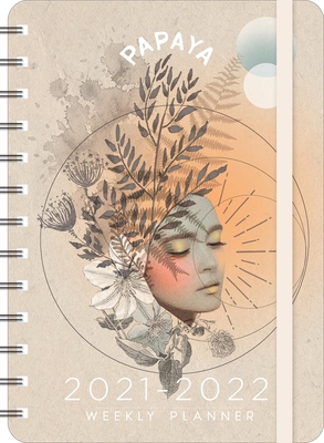 Papaya 2021 - 2022 On-The-Go Weekly Planner Cover Image