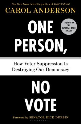 One Person, No Vote: How Voter Suppression Is Destroying Our Democracy image_path