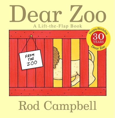 Dear Zoo: A Lift-the-Flap Book (Dear Zoo & Friends) Cover Image