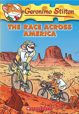 The Race Across America (Geronimo Stilton #37) Cover Image