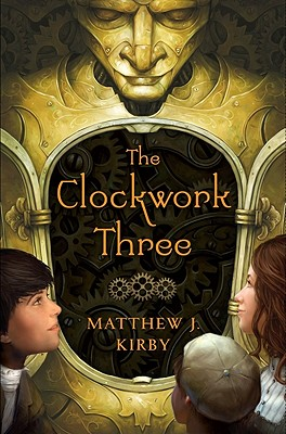 The Clockwork Three Cover