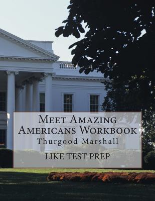 Meet Amazing Americans Workbook: Thurgood Marshall Cover Image