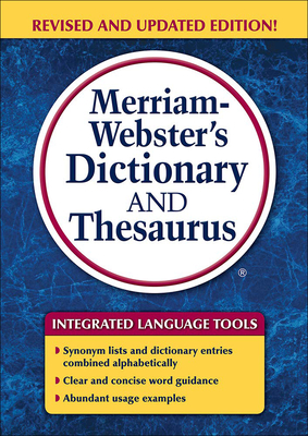 Merriam-Webster's Dictionary and Thesaurus (Trade Edition) Cover Image