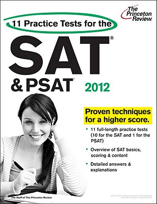 11 Practice Tests for the SAT and PSAT, 2012 Edition Cover