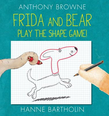 Frida and Bear Play the Shape Game by Anthony Brown