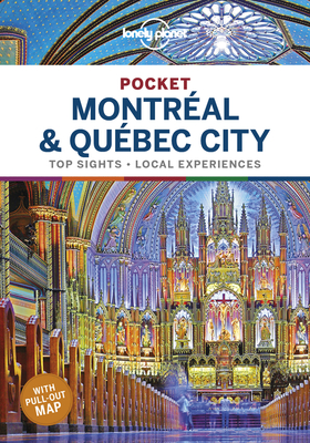 Lonely Planet Pocket Montreal & Quebec City 1 Cover Image