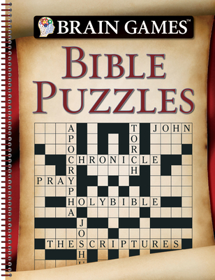 Brain Games - Bible Puzzles (96 Pages) Cover Image