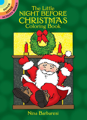 The Little Night Before Christmas Coloring Book (Dover Little Activity Books) Cover Image